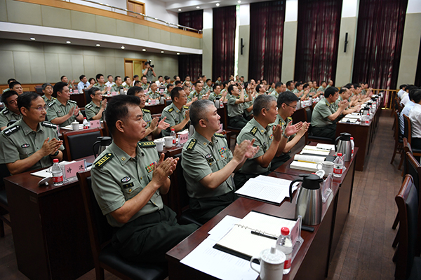 韩正:上海警备区要以优异成绩迎接党的十九大胜利召开