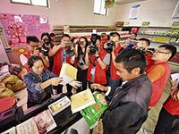 兰考谷营镇爱心超市匹配贫困户需求和民众捐赠