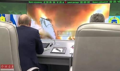 """俄总统普京不都雅摩试射""""前卫""""拙劣音速导弹。"""