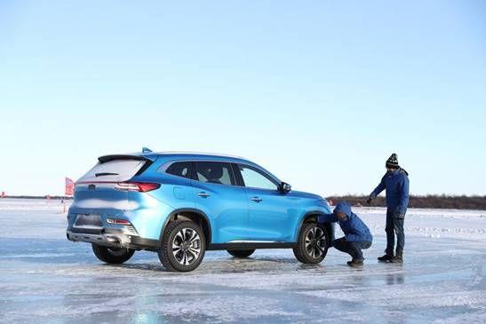 冰雪寒潮中的坚强舞者EXEED星途TX黑河极寒测试彰显硬实力