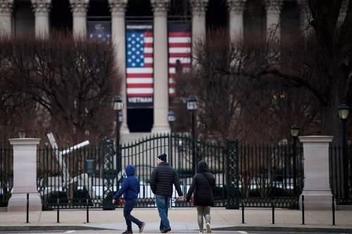 """1月27日,美国政府将实现短暂""""开门"""",华盛顿多个公共场所即将重新开放。"""