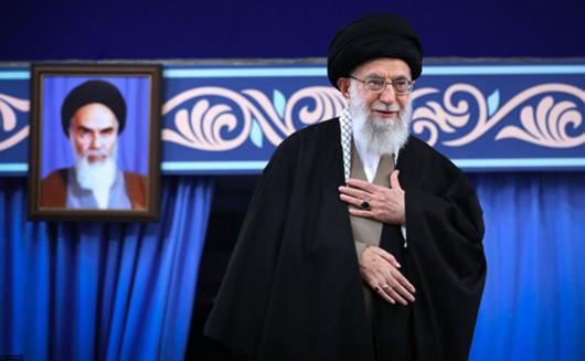 伊朗最高领袖哈梅内伊。视觉中国 原料