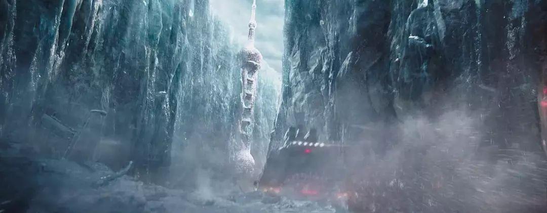 流浪地球:一堵墙,向上无限高,向下无限深,向左向右无限远,它是什么?