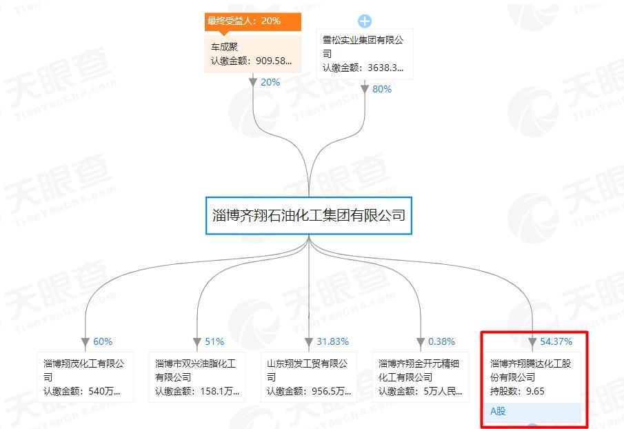齐翔腾达18年净利微增,控股股东8成股份已质押