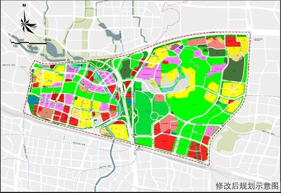 天河智谷片区规划图