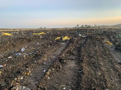 埃航坠机现场所有遗物已挖出:救援工作基本结束,现场设有灵堂