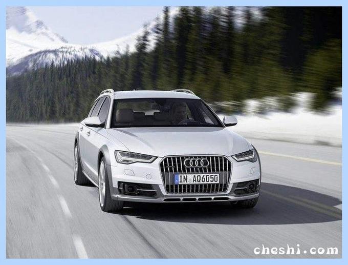 奥迪全新A6旅行版实车曝光!外观调整增混动系统