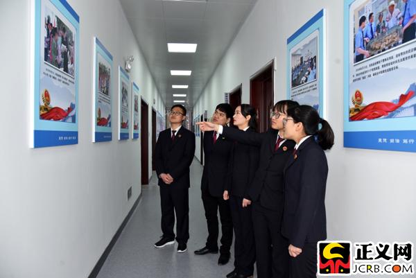 安徽凤阳:打造检察文化墙
