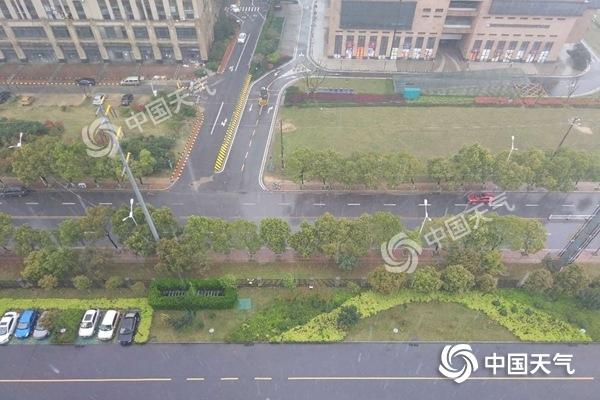 江西北部强降雨继续7市局地有暴雨 明天雨水将南移