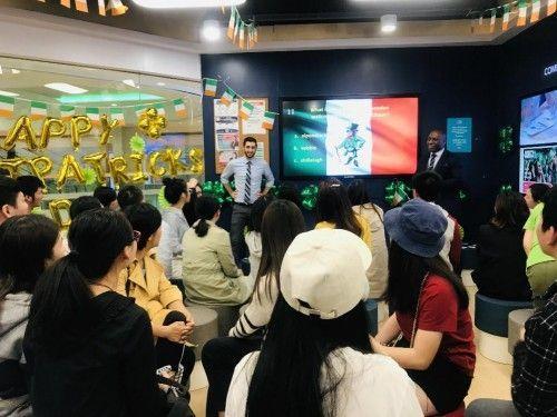 华尔街英语圣帕特里克节派对:向西方节日文化致敬