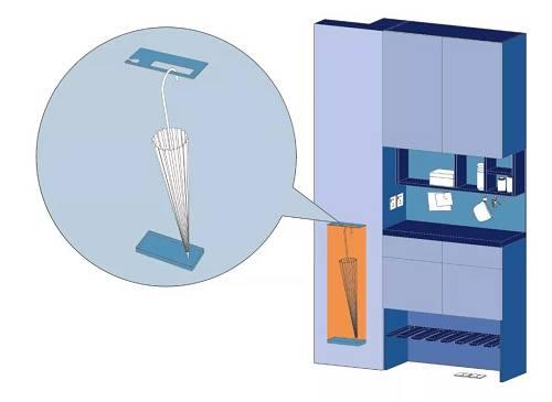 作为最容易成为收纳重灾区的空间,厨房和卫生间的收纳设计,能够直观展现CIFI-6在收纳上的用心。