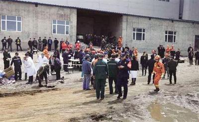 黑龙江一铁矿发生透水事故