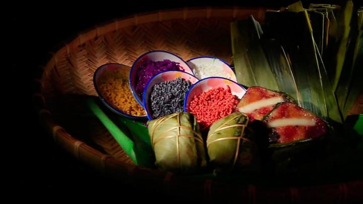 糯米的色彩全靠草本挑取而来,集美不悦目、健康、营养于一身。