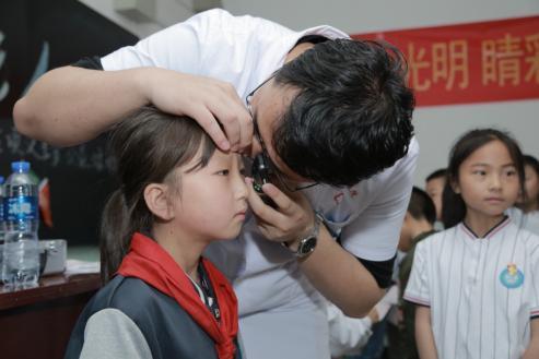 """守护清明 睛彩人。生——中国坦然""""三村工程""""健康扶贫眼科专项义诊走进陕西铜川"""