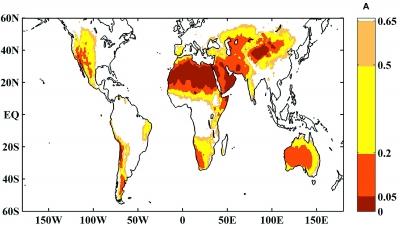 全球变暖 干旱区是否会更旱