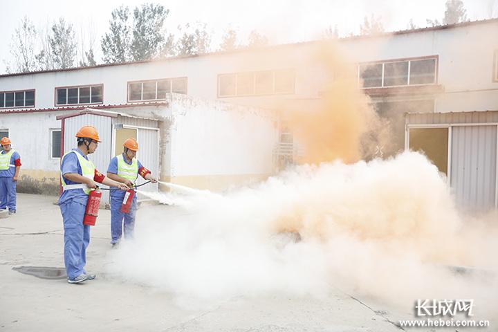 衡水市桃城区组织开展燃气泄漏事故应急演练
