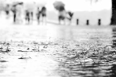 """""""暴力梅""""再度来袭 今明杭城有暴雨"""