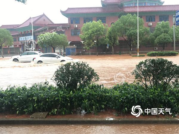 湖南强降雨持续在线 周末衡阳永州等局部有大暴雨