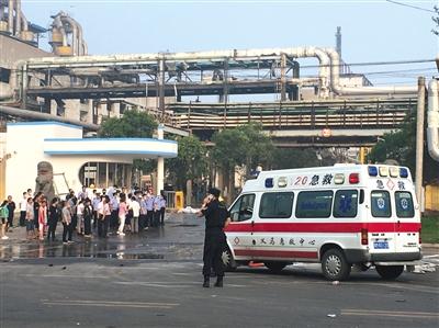 河南义马气化厂爆炸已致15人死亡
