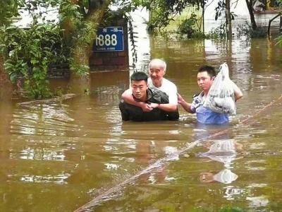 乐山遭遇暴雨洪涝灾害 已致10.31万人受灾