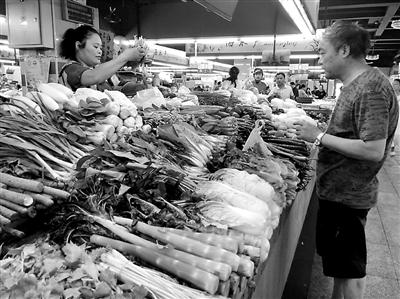 台风过后 蔬菜供应正常
