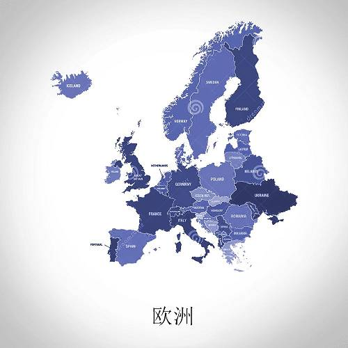 2019年二季度区块链政策地图国际版 欧洲、大洋洲篇