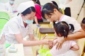 疫苗从哪来到哪去?一查便知                                                  番禺区实现广州市唯一儿童免疫全数字化管理