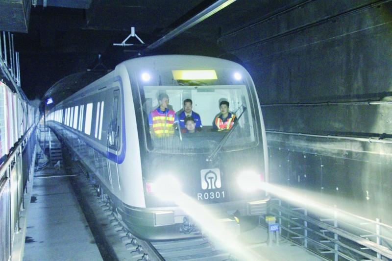 济南地铁3号线一期下月通车