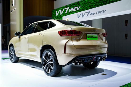 2020款VV7、VV7 GT上市 WEY品牌亮相2019成都车展