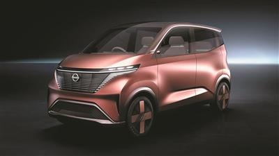 日产汽车发布IMk纯电动概念车