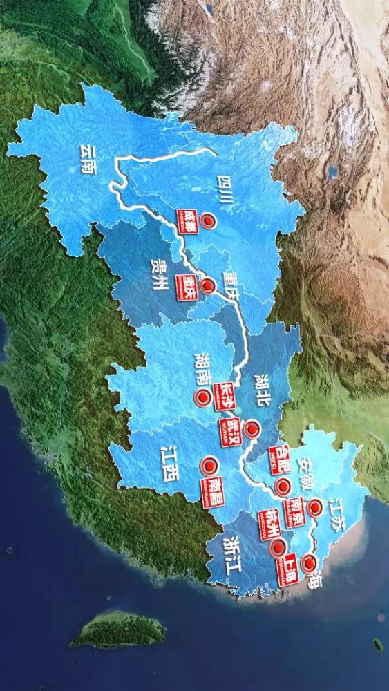 长江经济带11省市