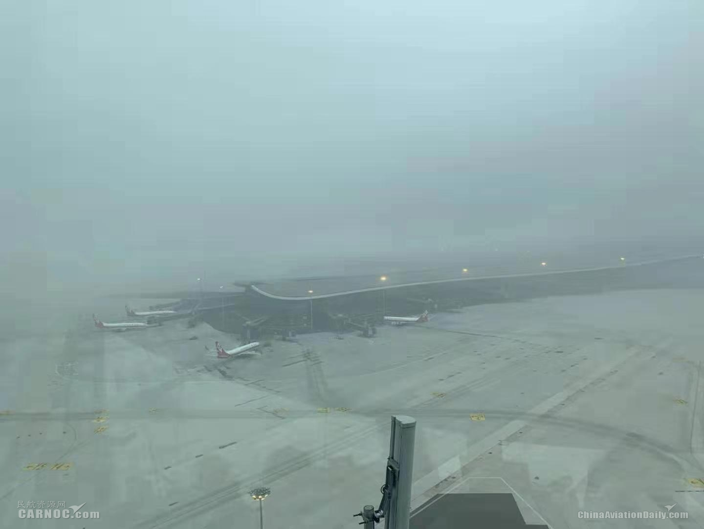 北京两场迎战大雾 大兴机场迎开航后首次大雾天气