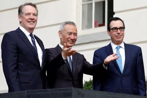 中美敲定部分首期贸易协议内容  美国股市创历史新高