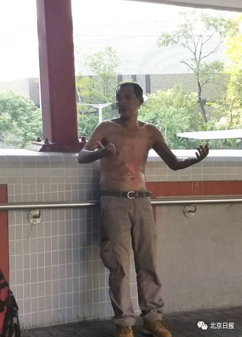 李伯遭淋易燃液体并点火,2人涉案被捕!