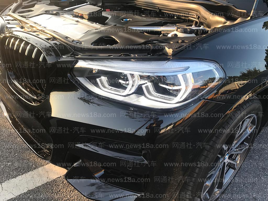 2019广州车展探馆:BMW X4黑骑士限量版