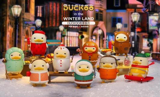 泡泡玛特携DUCKOO冬季系列强势回归 让寒潮不太冷鸭