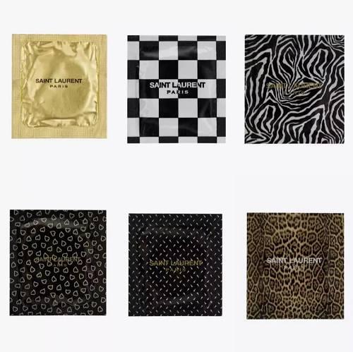 6款限定避孕套将在Saint Laurent 位于巴黎的Rive Droite门店限定贩售