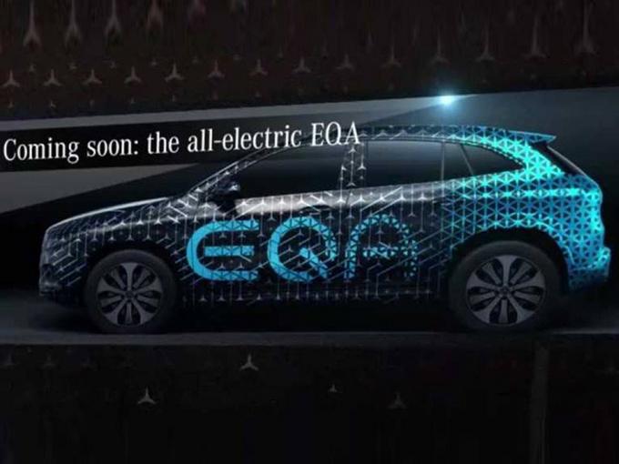 奔驰新EQA明年将亮相 配AMG套件续航达480km