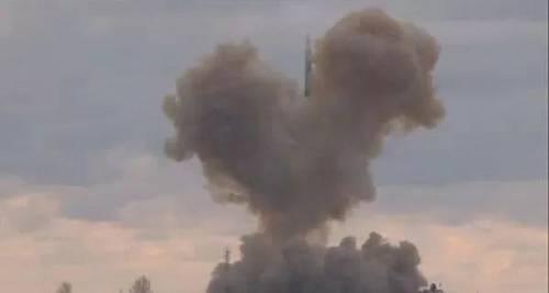 """俄罗斯""""先锋""""高超音速导弹试射(俄罗斯卫星通讯社网站)"""