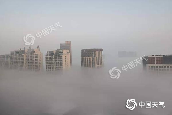 雾气笼罩河北南部 10日起开启新