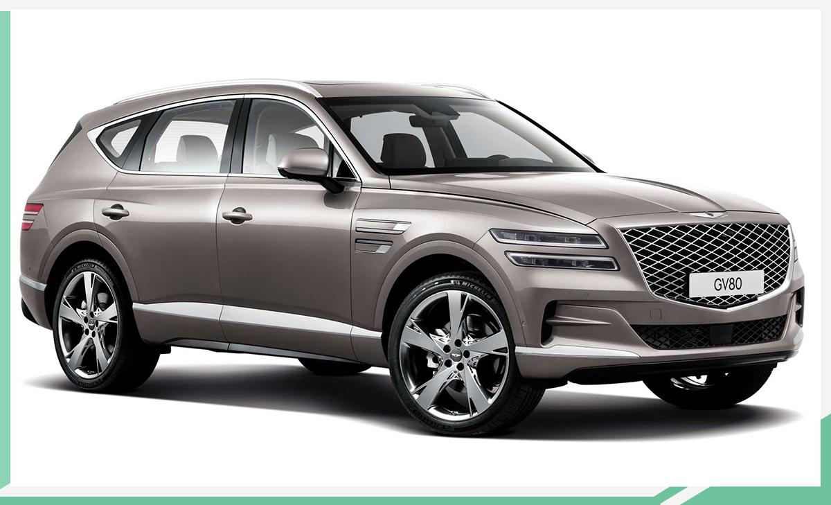 奢华风的韩系豪华SUV 捷尼赛思GV80正式发布