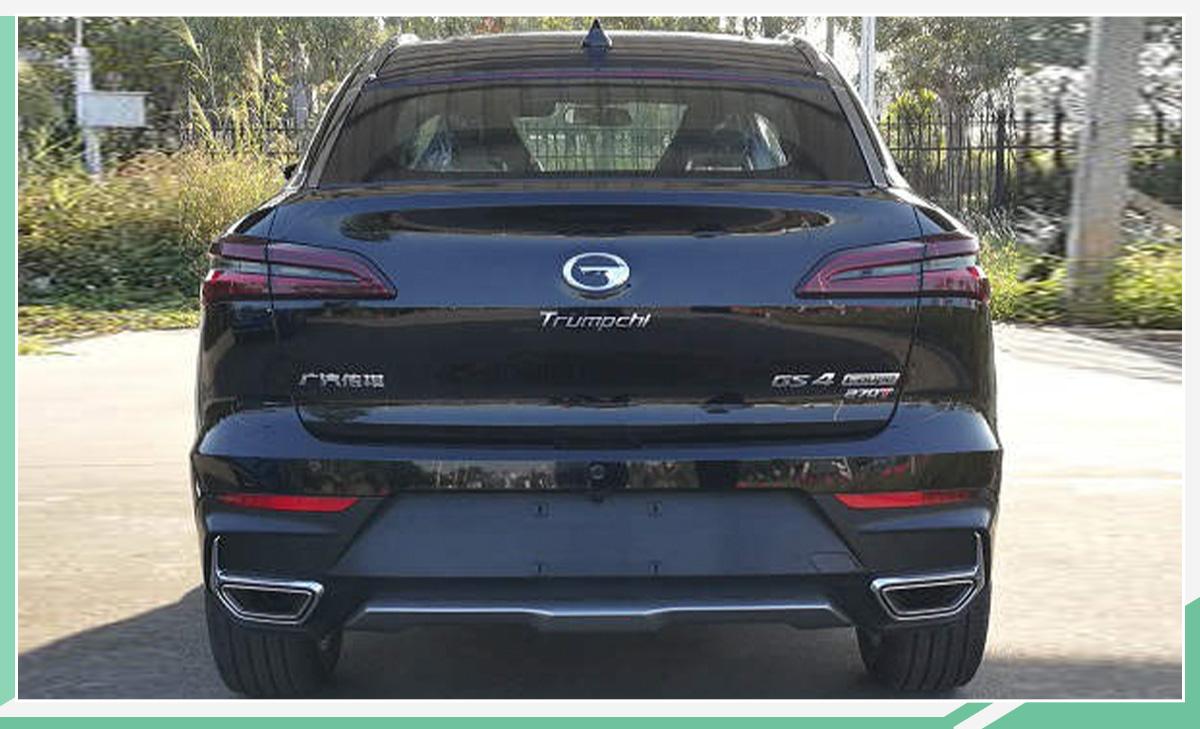 平民轿跑SUV再添新丁 传祺GS4 Coupe有望3月上市