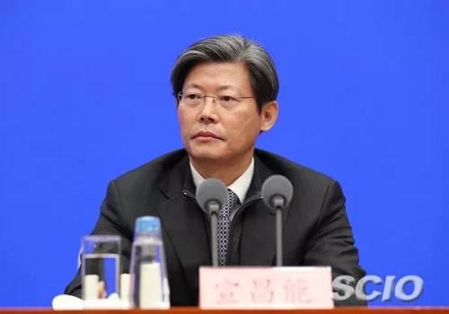 外汇局副局长宣昌能(徐想 摄)