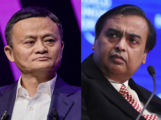 北京时间10日消息,由于国际油价暴跌,印度首富穆克什-安巴尼的身价缩水,将亚洲首富宝座拱手让给了马云。