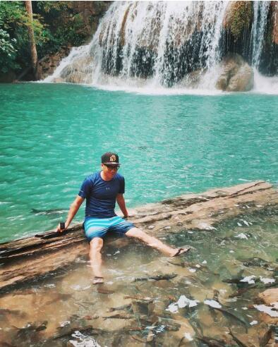 Jarod在泰国北碧府