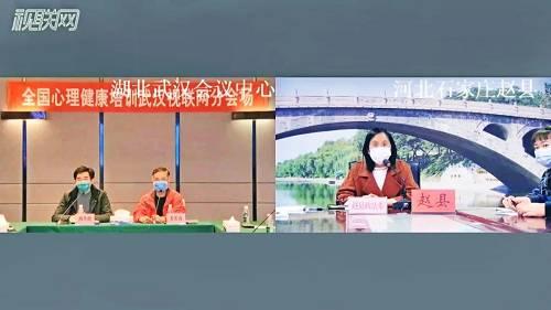 武汉会场和河北石家庄赵县政法委互动
