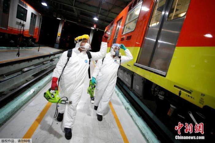 墨西哥确诊病例增至1215例 一家医院29名医务人员感染