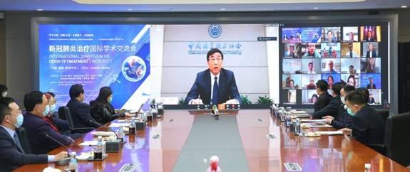 中国科协党组成员、书记处书记宋军发言