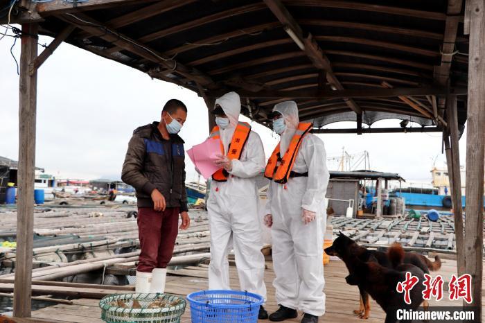 福建海警加强海域管控 严防疫情从海上输入