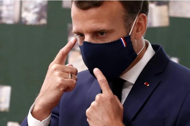 """特朗普终于戴上定制款口罩,外国首脑戴口罩各有""""特色"""""""